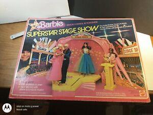 Vintage 1978 Barbie Mattel Superstar Stage Show With Original Box #2328