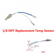2×1/8 NPT Temp Sensor Wire Sensor Universal Oil  Water Temperature Auto Gauge