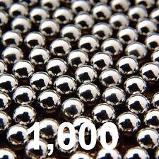 Lot of 1000 10mm Steel Ball For sling shot ammunition Ammo Slingshot 3/8 USA