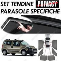 TENDINE PARASOLE SU MISURA 18265 PER FIAT QUBO 5P (PORTELLONE) (09/08>05/16)