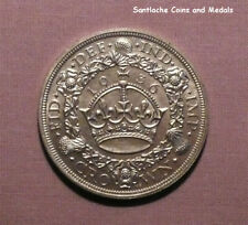 1936 KING GEORGE V SILVER WREATH CROWN - TOP GRADE RARE COIN