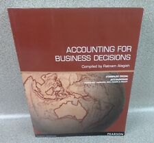 Accounting For Business Decisions 6th Edition 2011 Ratnam Alagiah Paperback Book