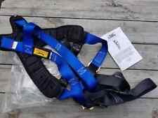 New Condor 35ku77 Confined Space Full Body Harness Unisex Blue 72018 Mfg Date
