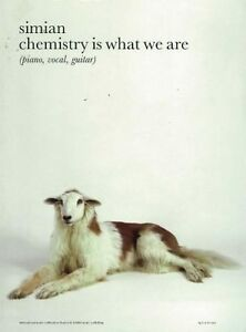 Music Book-Simian Chemistry Is What We Are Pvg 9706a
