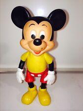 Vintage Walt Disney Productions Micky Mouse Figure 5 Inch Antique Good Rare 31