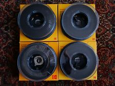 4 Kodak Carousel Projector Slide Trays / Magazines For 35mm in original boxes