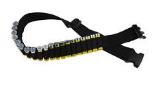 Bulldog Cases Adjustable Cartridge Belt For Shotgun Shells, Black