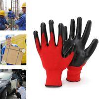 1 Paar Herren Arbeitshandschuhe Gartenhandschuhe Handschuhe Montagehandschuhe
