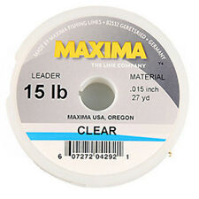 Maxima Clear Fly Fishing Leader/Tippet Material, 40 lb