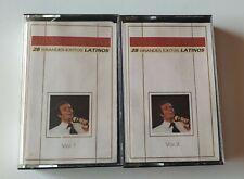JULIO IGLESIAS '28 Grandes Exitos LATINOS' 2 Cassette Compilation 1989 Tape MC