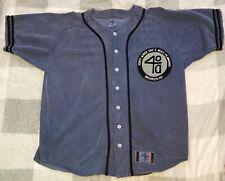 Vintage 40 Acres And A Mule Filmworks Baseball Jersey Spike Lee Size Xl