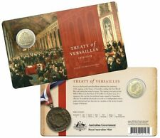2019 Australia Centenary of the Treaty of Versailles $1 Uncirculated Coin