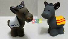 Fisher Price Little People Nativity Manger Replacement Two (2) Donkey (Pair o...