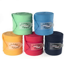 Eskadron Fleecbandagen 4er Set navy, mintgreen, mango, freshberry, skyblue