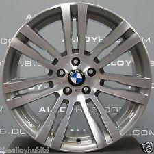 """GENUINE BMW X5 E70 20"""" Pouces Style 333 m gris/poli Alloy Wheels X4"""