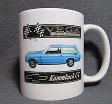 1972 Chevrolet Vega Kammback GT Coffee Cup, Mug - New - Classic 70's