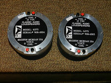 CLASSIC AUDIO LOUDSPEAKERS 6375 FIELDCOIL DRIVERS TO REPLACE JBL,TAD,ALTEC&OTHER