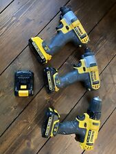 Dewalt 10.8v Lithium Ion Drill And Impactdriver