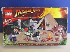 7624 Lego Indiana Jones selva duelo Complete Set Lote Inc Minifiguras C97