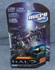Mcfarlane Halo Micro Ops Series 1 Ghost Vs Wolf Spider With Emile