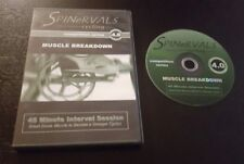 Spinervals 4.0: Muscle Breakdown (DVD, Competition Series) spinning workout