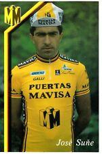 CYCLISME carte cycliste JOSE SUNE équipe PUERTAS MAVISA