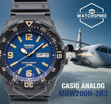 Casio Diver Look Analog Watch MRW200H-2B3