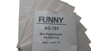 10- L Bio-Müllbeutel,Papier,keine Folie,biologisch Abbaubar,Mülltüten