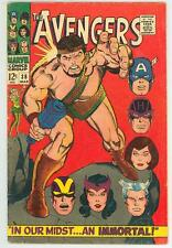 AVENGERS 38 4.0 4.5 CAP QUICKSILVER SCARLET WITCH HERCULES NICE PAGES RC
