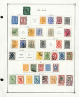 Finland Useful Mint & Used 1800s to 2004 High Value Stamp Collection