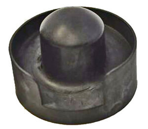 "Black Trampoline End Cap Net Enclosure Top/Topper Fits 1.5"" Pole Parts Holder"