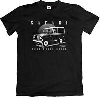 Land Rover Safari Offroader 4x4 Defender NAVY BLACK T-Shirt S - 5XL