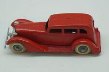 VINTAGE TOOTSIETOY CAR GRAHAM 4 WHEEL RED 3 WINDOW SEDAN ORIG DIECAST USA