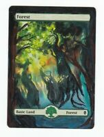 Forest Zendikar * MTG * Magic The Gathering * Hand Painted Altered Art * ~Epoch~