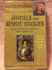 AUDIOBOOKS CASSETTES:  ANGELS AND SPIRIT GUIDES  BY SYLVIA BROWNE
