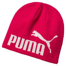 PUMA ESSENTIAL BIG CAT BEANIE HAT - BRAND NEW  FREE POSTAGE PINK