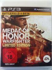 !!! PLAYSTATION ps3 gioco Medal of Honor Warfighter usk18, Gebr. ma bene!!!