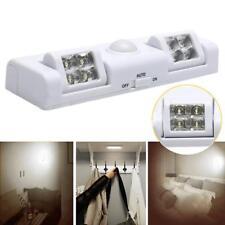 10 LED Schranklampe Lichtleiste PIR Bewegungsmelder Sensor Nachtlicht Lampe Neu