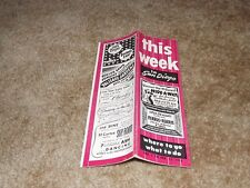 THIS WEEK IN SAN DIEGO - Where To Go, What To Do - Tourist Brochure - 1953 Issue