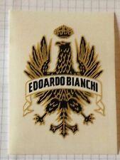 ADESIVO EDOARDO BIANCHI AQUILA BICICLETTA CORSA BIKE VINTAGE