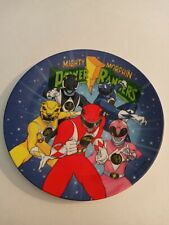 Vintage Mighty Morphin Power Rangers MMPR ~ Plate