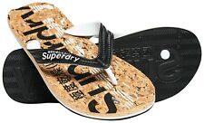 SUPERDRY CORK FLIP FLOP Black