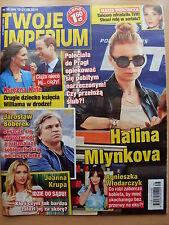 TWOJE IMPERIUM 38/2014 HALINA MLYNKOVA,Joanna Krupa,Al Pacino,Britney Spears