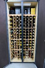 wine cooler free standing, self contained made in US  holds 248 bottles