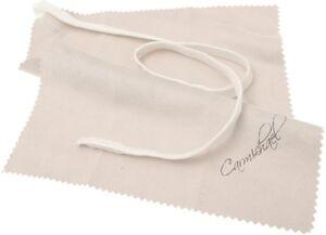 Carmichael Bb Clarinet Pull Through - Faux Chamois Cloth Body Cleaner