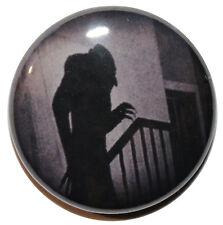 "1"" (25mm)  Nosferatu Shadow 1922 Vampire Movie  Horror Button Badge Pin"