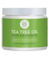 Pure Body Naturals Tea Tree Oil Epsom Salt Foot Soak, 20 Ounces