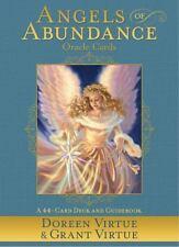 ANGELS OF ABUNDANCE ORACLE CARDS - VIRTUE, DOREEN/ VALENTINE, RADLEIGH - NEW PAP