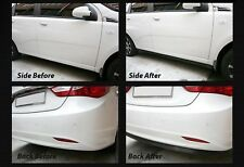 7Ft Side Skirts Spoiler Chin Lip Splitter Valence 2p Set for INFINITI