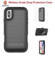 IPhone X Griffin Survivor Extreme Ultimate Drop Protection Cover Case| Black